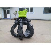 Quality Non Rotating Orange Peel Grapple , EC210 EC240 Excavator Grab Attachment Long Life for sale