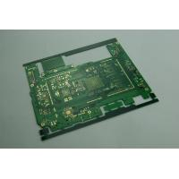 Quality Custom Green HAL Printed Multi Layer PCB Boards for High End Electronic 8 Layers 0.7mm for sale