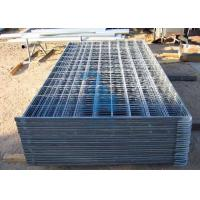 Buy Heavy Duty Steel Cattle Guards Corral Fence Panels‎ For Livestock at wholesale prices