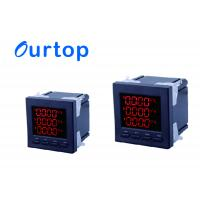 Quality High Precision Digital Panel Meters Electric Smart Meter With P/Q/H/F Phase for sale