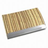 Quality Cortex Business Card Case, Made of Stainless Steel for sale