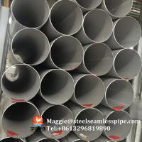 Quality Stainless Steel Welded Pipes ASTM A312 TP304 TP304L TP304H TP321 TP316L ASTM A790 S31803, SCH10, SCH40,6M 11.8M for sale