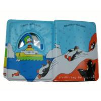 Quality Eco Friendly Baby Bath Books Happy Penguin Patterns Light Weight For Carrying for sale