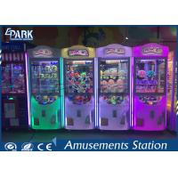Quality coin operated crazy toy gift vending machine claw crane machine for sale