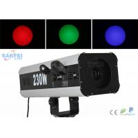 Quality Dj Equipment 230w Led Follow Spot Lamp With Aluminum Alloy Body for sale