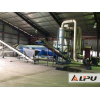 Energy Saving Industrial Drying System , Wood Blocks And Sawdust Drying Equipment for sale