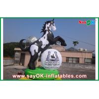 Quality Outdoor Inflatable Horse Model Cartoon Character For Advertising for sale