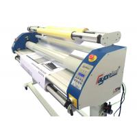 Quality Single / Double Sided Poster Cold Lamination Machine Imported Silicone Roller  for sale