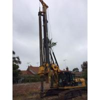 Max Drilling Depth 68m Pile Driving Equipment , Borehole Drilling Machine 5~26 Rpm Rotation Speed