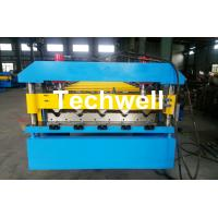 Buy Automatical Steel Roof Wall Panel Roll Forming Machine With 13 - 20 Forming at wholesale prices