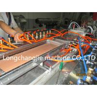 Quality SJ51 / 105 WPC PVC Composite Plastic Pipe Extrusion Line With Foamed Profile for sale
