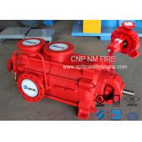China Firefighting Electric Motor Driven Pump 750GPM@90m Ductile Cast Iron Materials on sale