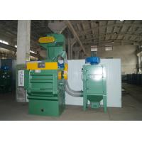 Quality PLC Control Tumble Shot Blasting Machine Sa2.0 - 2.5 Surface Finish Level Easy To Operate for sale