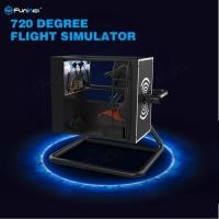 China 720° Virtual Reality Flight Simulator With Motion Control / Full-Digital Servo System on sale