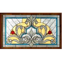 """Quality tempered stained glass for windows 1""""thickness for sale"""