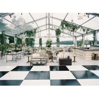 China Aluminum Structure Clear Tent Wedding Reception With Waterproof Pvc Cover For Outdoor for sale