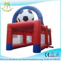 Quality Hansel Inflatable  Sports Games 0.55 PVC Tarpaulin Safe Inflatable Sport Playground for sale