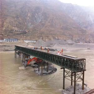Quality Easy Assemble Floating Pontoon Bridge Emergency Use Temporary Steel Bridge for sale