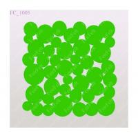 Buy Green wool felt design coaster at wholesale prices