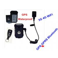 Quality Hands Free 4G Body Worn Camera With High Strength Engineering Plastics for sale