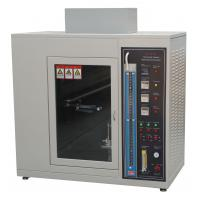 Quality Fire Flame Plastic Burning Test Chamber UL 94 Standard AC 220V 50Hz for sale
