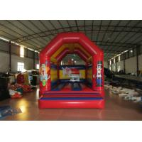 Quality Clown circus themed inflatable bouncer elephant inflatable bouncer jumping square inflatable bouncer for sale
