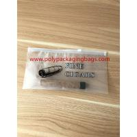 Buy Zipper Locks Resealable Cigar Humidor Bags With Slider LDPE Laminated White Color at wholesale prices