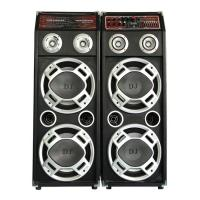 Quality Pro Stage Concert Portable Bluetooth PA Speakers , Bluetooth Powered Speakers for sale