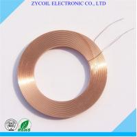 Quality Multilayer Toroid Air Core Inductor Coil / Wireless Charger Coil Bobbin for sale
