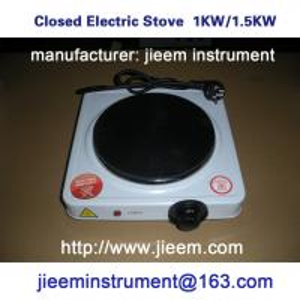China JIEEM DDF Series Closed Electric Stove 1KW 1.5KW 100-300DEG.C on sale