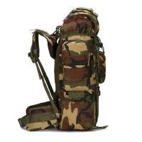 Buy Upgrade Version Military Tactical Backpacks , Army Green Travel Carry On BackpackWith Rain Cover at wholesale prices