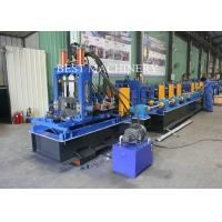 Quality Steel C And Z  Purlin Roll Forming Machine Frame  Construction 80mm - 300mm for sale