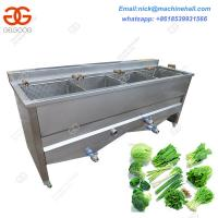 China Industrial Vegetable Blanching Machine/Easy Operate Potato Chips Blanching Machine on sale