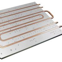 Quality Cold Plate Copper Tube Water Cooled Heat Sink Aluminum Heatsink Extrusions for sale