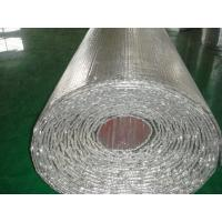 China Heat Foil Bubble Insulation Roll, Bubble Foil For Fireplace, Insulation Material on sale