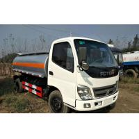 Quality 5-16 Tons Used Oil Tanker DONGFENG / FOTON / HOWO Brand Diesel Fuel Type for sale