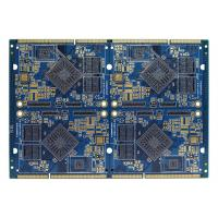 Quality FR4 Electronics Air Conditioner Part PCB Multilayer Board Blue Soldermask for sale