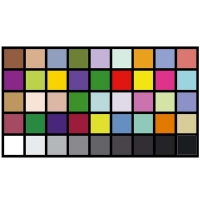 Quality AC220V Reflective DTV Color Rendition Test Chart Sineimage YE0226 for sale