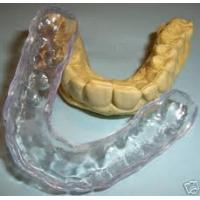 Quality Soft Acrylic of Custom Dental Night Guard / Mouthguards For Teeth Grinding for sale