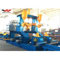 Quality Automatic h beam welding machine Mutifuctional Steel Welding Straightening Automatic Combined H Beam for sale