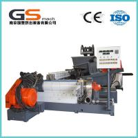 Quality Single / Double Screw Plastic Pellet Making Machine For PVC Cable / Wire Materials for sale