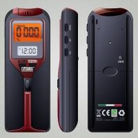 China Digital LCD Clock Breath Alcohol Tester with advanced MEMS semiconductor alcohol sensor on sale