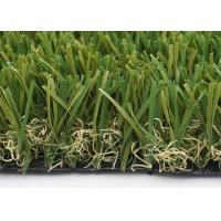 Quality Customized W Shape Artificial Grass Garden 40mm 14700 Density Synthetic for sale