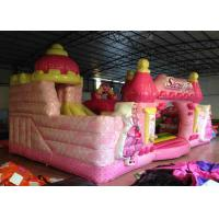 Quality Waterproof Princess Bouncy Castle  Full Digital Printing , Attractive Giant Bouncy House for sale