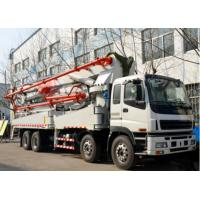 Quality 37 Meter Used Concrete Pump Truck Dongfeng Brand 1200mmx2490mmx3850mm for sale