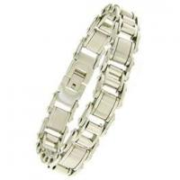 China Golden Stainless Steel Chains charm Bracelets for Men 1420135 on sale