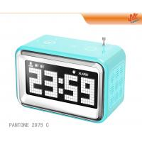 Buy Digital Mini Speaker MP3 / Computer Electronic Calendar Clock With Alarm / Radio at wholesale prices