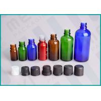 Quality Color Coated Glass Bottles With Screw Cap And Orifice Reducer For Essential Oil for sale