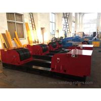 Quality 160 Tons Conventional Pipe Turning Rollers , Pipe Tank Welding Rotator for sale