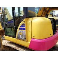 Quality PC56 Second Hand Komatsu Excavator 4.6km/H / 5 Tons Used Construction Equipment for sale